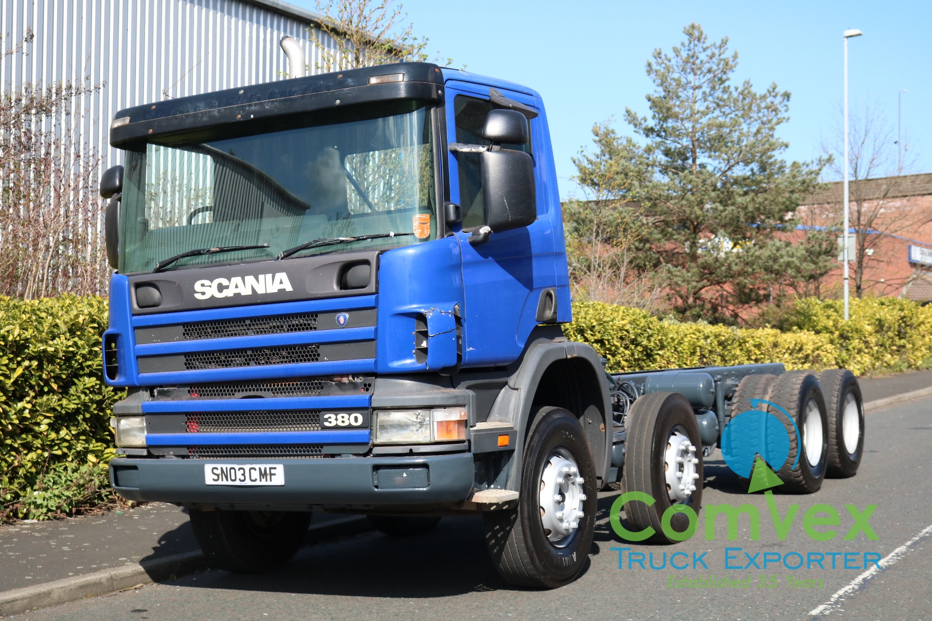 Scania 114.380 8×4 Chassis Cabin (2003)
