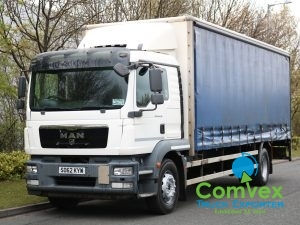 MAN TGM 18.290 4x2 25Ft Curtainside (2012)
