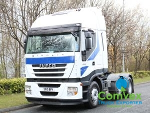 Iveco Stralis 450 Active Space 6x2 Tractor (2010)