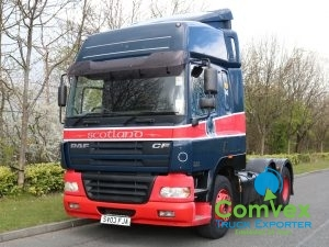 DAF CF85 430 Spacecab 6x2 Midlift Tractor (2003)