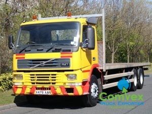 Volvo FM7 290 6x2 Rearlift Flatbed (2001)