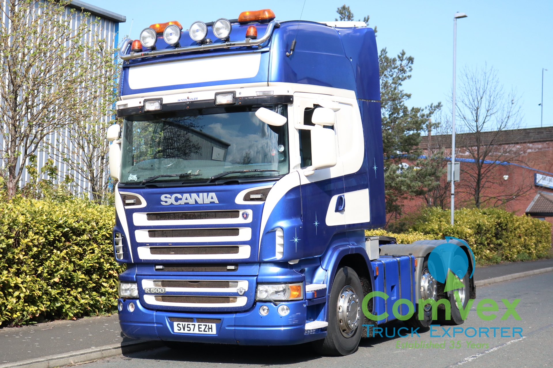 Scania R500 Topline Manual 6×2 Midlift Tractor (2007)