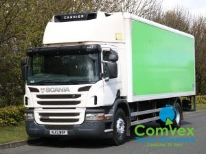 SCANIA P230 4X2 Carrier Supra 850 Freezer (2012)