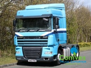 DAF XF 105 460 6x2 Spacecab Midlift Tractor (2007)
