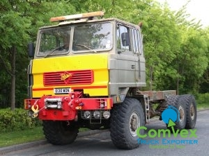 Foden S106MM 6x6 Winch Chassis (1988)