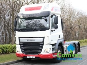 DAF CF510 SuperSpace 6x2 Rearlift Tractor (2014)
