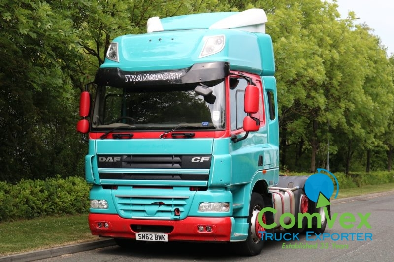 DAF CF 460 SPACECAB 6X2 MIDLIFT TRACTOR (2012)